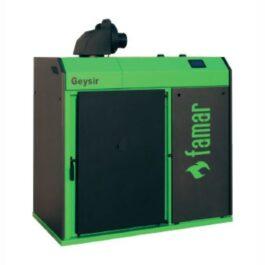 Famar Caldaia a legna, pellet e policombustibile GEYSIR WOOD GREEN