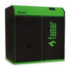 Famar Caldaia a pellet e policombustibile GEYSIR 34 GREEN – GEYSIR 46,5