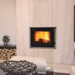 Famar KRONOS Termocamino a legna, pellet e policombustibile