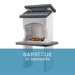 Barbecue in cemento