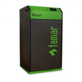 Famar Termocamino a pellet GEYSIR 24 Green