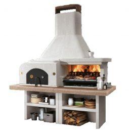 Palazzetti Barbecue in cemento Gargano 3 con forno – Sistema modulare