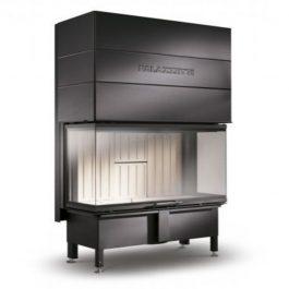 Palazzetti Caminetto a legna SF 100 3D aria
