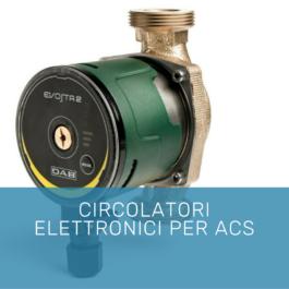 Circolatori elettronici per ACS