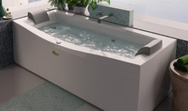 Jacuzzi Vasca idromassaggio Essential Invita 180 x 78/88 x 60H