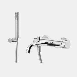 Framo monocomando vasca esterno con doccia E400