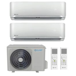 CLIVET Climatizzatore Dual-Split Essential 2 – Btu/h 12000+12000