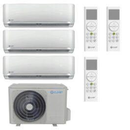 CLIVET Climatizzatore Trial-Split Essential 2 – Btu/h 12000+12000+12000