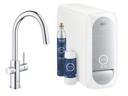 GROHE BLUE HOME Starter kit Sistema di filtrazione acqua