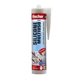 Fischer SAM BI Sigillante siliconico multiuso a base acetica per applicazioni in ambienti interni ed esterni