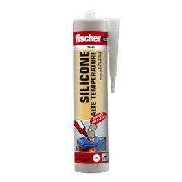 Fischer SAT NE Sigillante siliconico a base acetica resistente alle alte temperature
