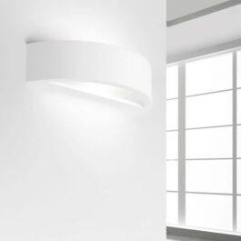 Andros T184 Lampada da parete gesso biemissione
