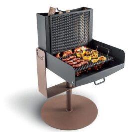 Palazzetti TWIST Barbecue in acciaio a legna