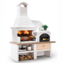 Palazzetti Barbecue in cemento Malibù 2 con Forno
