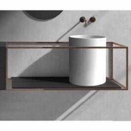 Galassia Sanitari collezione CORE lavabo + sottolavabo