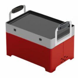 MyBBQ Barbecue portatile con bruciatore a pellet