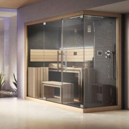 Sasha Mi cabina sauna e hammam+doccia emozionale