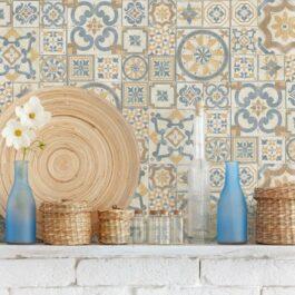 Piastrelle cucina Savoia Italia 30×60 Rinascimento Multicolor