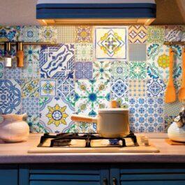 Piastrelle cucina Savoia Italia 30×60 Capaccio Color Mix