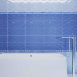 Piastrelle bagno Viola Blue 20×50